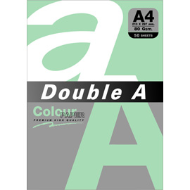 Double A 80gsm A4湖水綠/50張 DACP13011