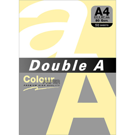 Double A 80gsm A4粉橘/50張 DACP13002