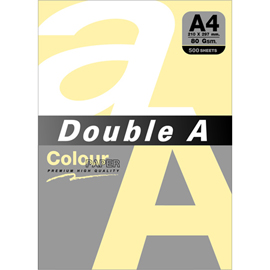 Double A 80gsm A4粉橘/500張 DACP13003