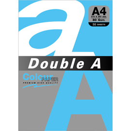 Double A 80gsm A4天藍/50張 DACP11003